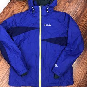 Columbia Omni-Heat women's ski jacket.